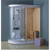 Wooden Sauna house/steam sauna room/shower room