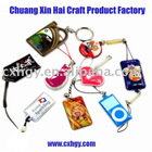 Fashion gift mobile phone pendant and key chain