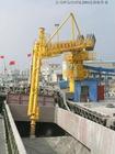 stationary block type screw ship unloader
