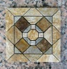 Slip and Stain Resistance Parquet Stone Mosaic Tiles