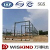 Warehouse light steel frame structure for industrial building