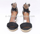 Hot sell high heel sandals for ladies
