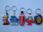 Soft PVC key chains