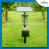 Outdoor energy saving 18 Watts UV solar garden lamp mosquito killer lamp with solar panel