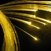 Plastic optic fiber light