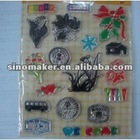 Scrapbooking Acrylic Crystal Craft Clear Silicon Stamps