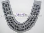 hand beaded collar/neck collar