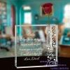 crystal vase with custom engraving