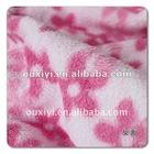 printed 144F coral fleece fabric
