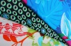 Printed polyester spandex strentch swimwear fabric