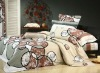 100%cotton bedding sets with reactive printing