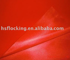100% rayon tricot flock fabric