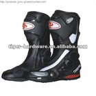 New Design Speed Bikes Motorcycle Boots with PU Leather
