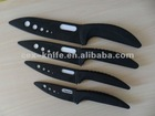 ABS TPR handle ceramic knife with sheaths