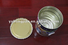 Antirust inner, colore painting outside with metal handle steel bucket