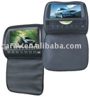 """headrest monitor-9"""" Headrest monitor with easy operation special two buttons design"""