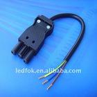 3Pin High Voltage LED Socket 250V