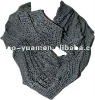 Warm fashion knitting scarf matches with wool sweater 2013