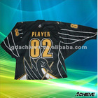 Custom dye sublimated ice hockey jerseys team wear