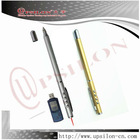 Remote control Telescopic usb laser pointers with LED lighting