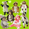 Baby Animal Fleece Rompers Jumpers 7 Style