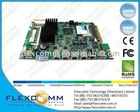 Intel Atom N270 CPU based DDR2, 4-port 1000M Gigabit Ethernet Industrial embedded board 12V DC powered OEM or ODM