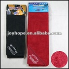 Sports towel towel with pocket microfiber towel