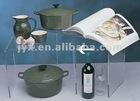 U shape dinnerware Acrylic rack