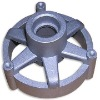 Zinc precision die casting part,machined,sand blasted,German quanlity and standard