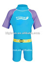 Boy's Blue and Purple Lycra Float Swimming Suit