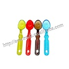 clear colorful plastic ice cream scoop KC1224