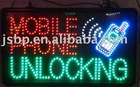 Led sign board,mobile phone unlocking
