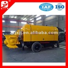 2012 hot selling economic type concrete mixer pump
