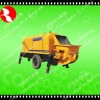 Mobile Trailer Concrete Pump HN30B,Welcome To Visit Our Factory
