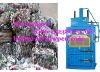 hydraulic plastic bottle baling press machine 0086-15238020768