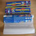 Silicone coated non-stick baking paper