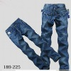 2012 new fashion style Chinese factory price denim jeans