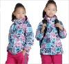 2013 Fashion Hoohie Girls Ski Jacket