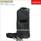 Hot selling wireless 2 way radio leather case (TK-378)