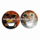 Magnet Button Round Bottle Openers