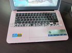 13.3inch laptop with inter atom D2500 1.86GHZ/2GB/160GB