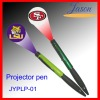 LOGO projector pen with LED light