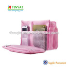 2012 cute pink cosmetic bag