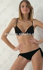 black bikini with diamond