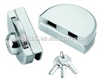 Toughness glass door lock