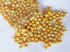 9-10mm yellow freshwater pearl beads loose beads with 2mm hole