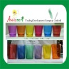 Colored Glass Cups