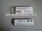 plastic magnetic name badge with insert paper