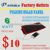 Folding Solar Charger Bag in Portable Design 6W/1000mAh Output