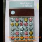 OEM printed crystal Push Pin